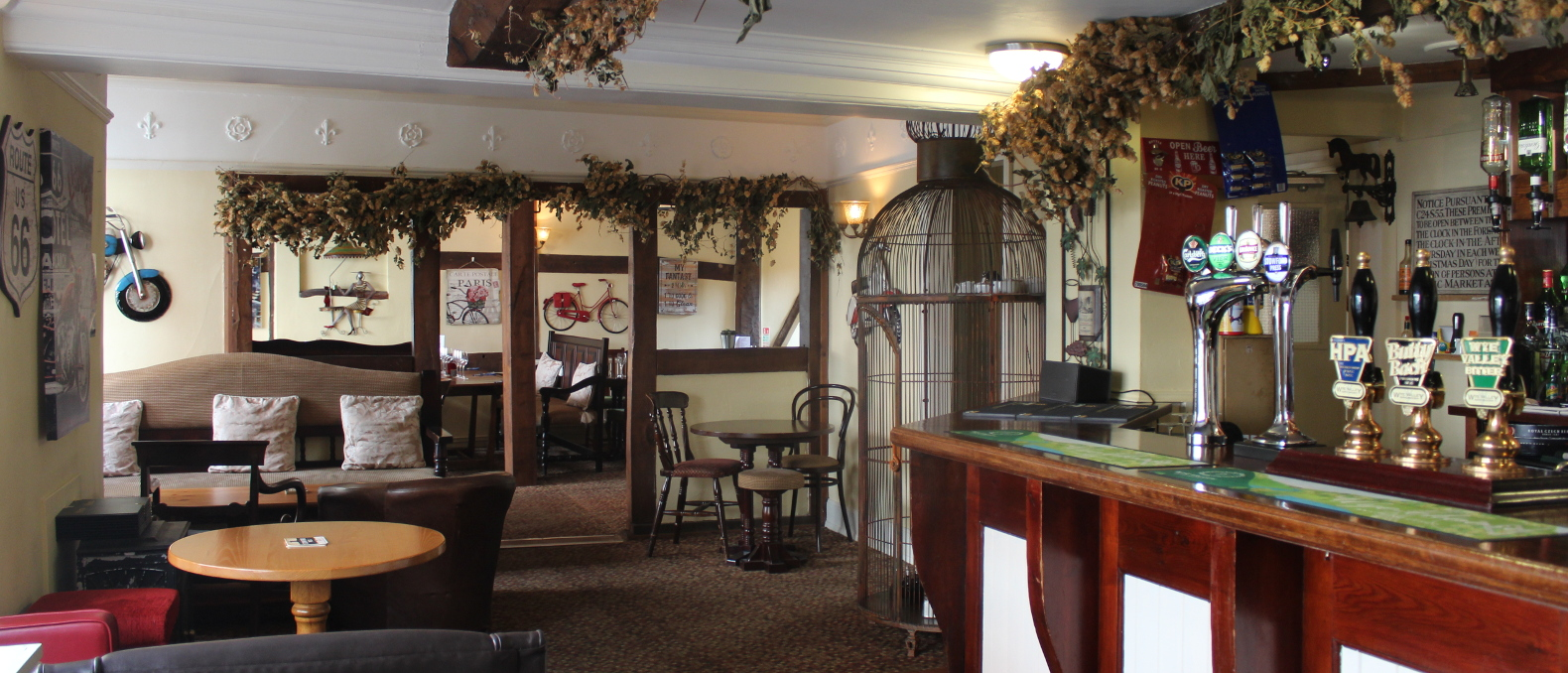 Pub And Restaurant In Bromyard, Herefordshire