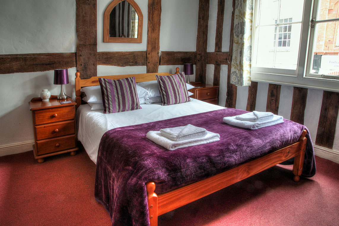 A bedroom in The Inn at Bromyard