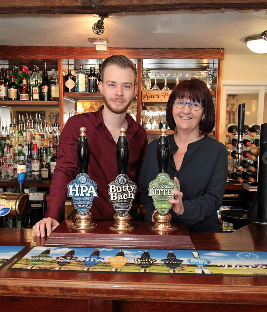 Sue and Josh from The Inn at Bromyard