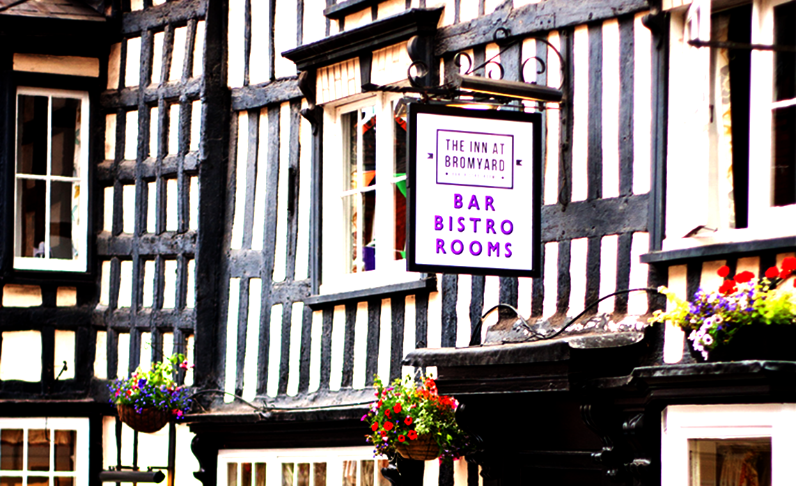 the inn at bromyard exterior